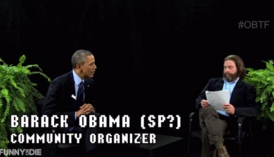 "Video: ""Between Two Ferns"" mit Barack Obama"